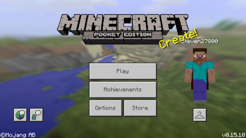 Cкачать Minecraft PE 0.15.10