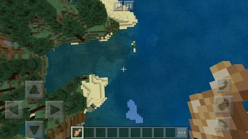 Океан в Майнкрафт 1.4.1