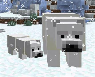 Белый Медведь в Майнкрафт 0.17.0