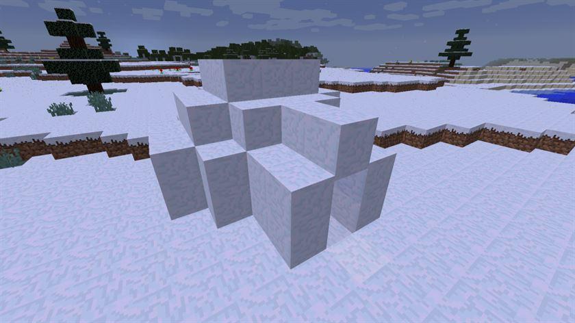 Структуры в Minecraft 0.17.0