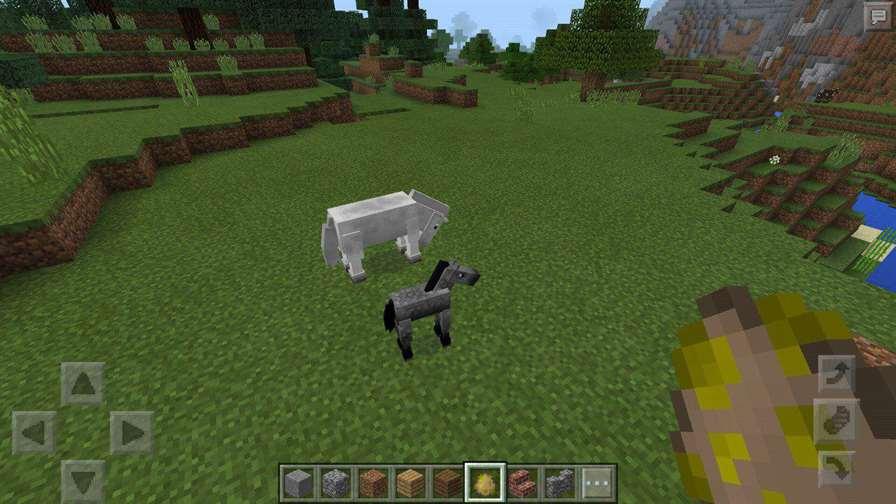 Лошади разные Майнкрафт 0.15.0 на Андроид