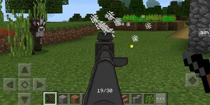 оружие для Майнкрафта ПЕ