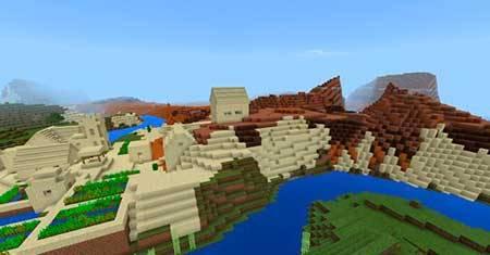 Сиды на деревни в Майнкрафт ПЕ