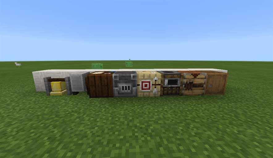 Декор в Minecraft 1.9.0