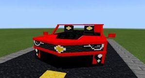 Скачать мод на машину Camaro для Майнкрафт на Андроид