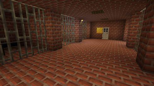 Карта для Майнкрафт ПЕ побег из школы: херобрин скачать