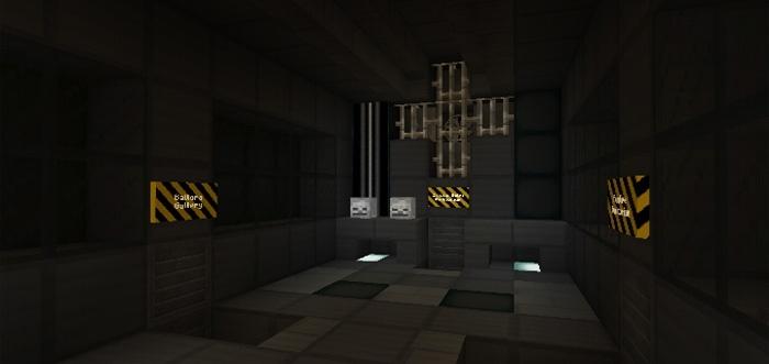 Техническое помещения в фнаф для майкнрафт
