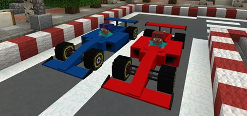 Скачать мод на машину Formula One для Майнкрафт на Андроид