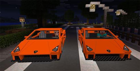 Скачать мод на машину Lamborghini для Майнкрафт на Андроид
