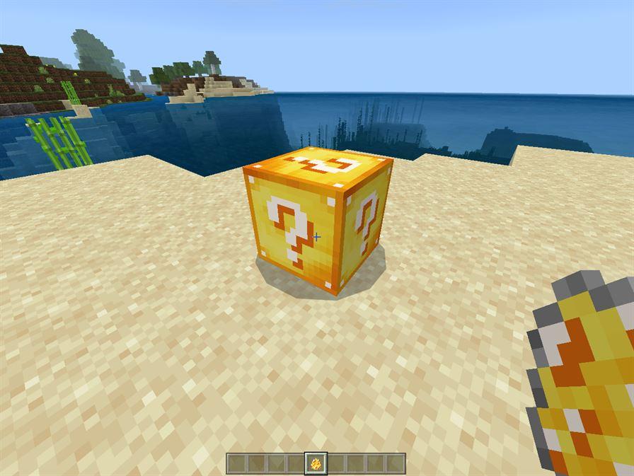 Майнкрафт 1.6.4 мод на лаки блок