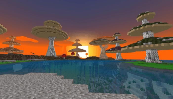 Грибной остров для Майнкрафт 1.11.0