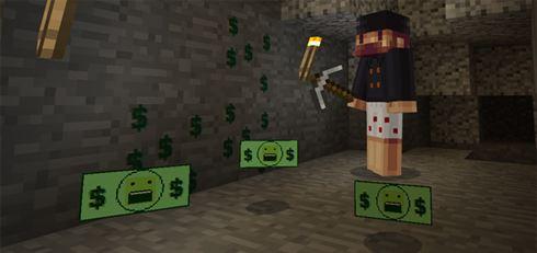 Деньги Нотча для Minecraft Pocket Edition