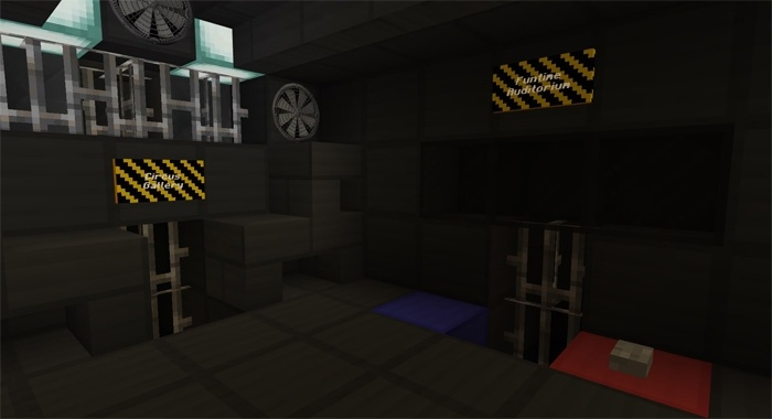 Темная комната в Фнаф для майнкрафт ПЕ