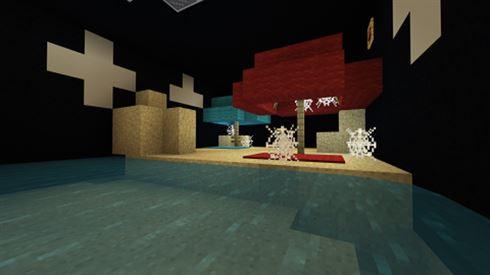 Нажми плитку карты для Minecraft Bedrock Edition