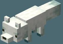 Белая лиса майнкрафт ПЕ 1.12