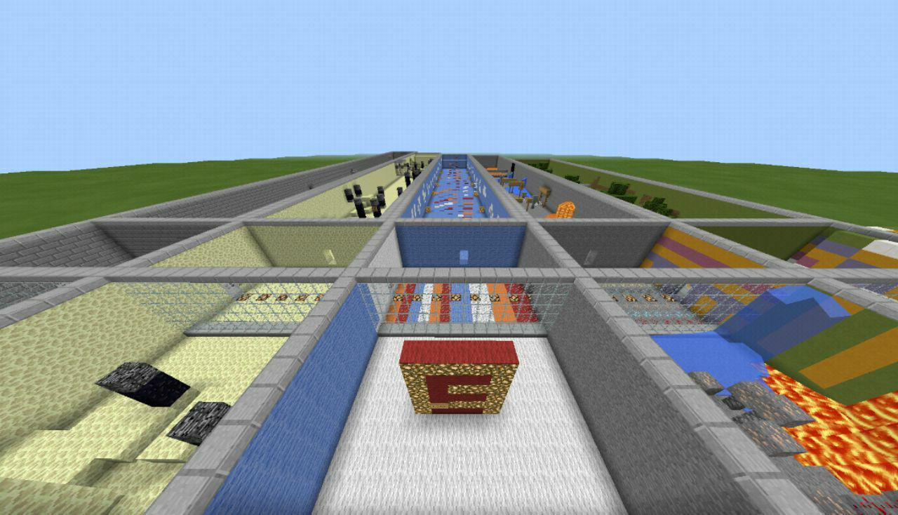 Penta Parkour для Minecraft Pocket Edition