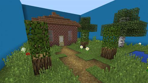 Скачать карту Houses Edition для Minecraft Bedrock Edition