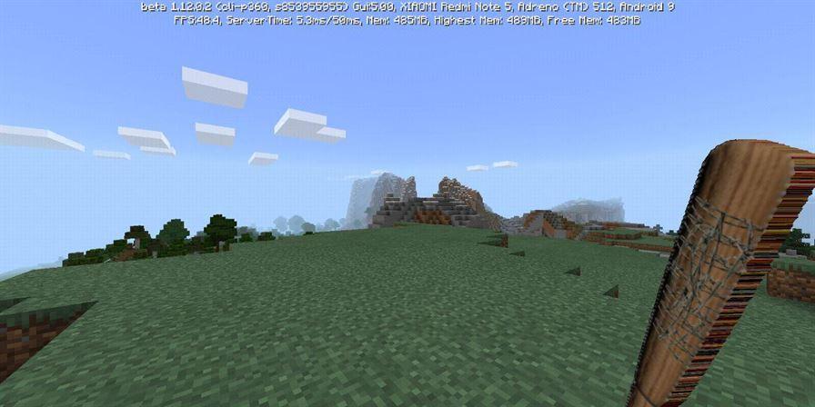 Бита в Minecraft Pocket Edition