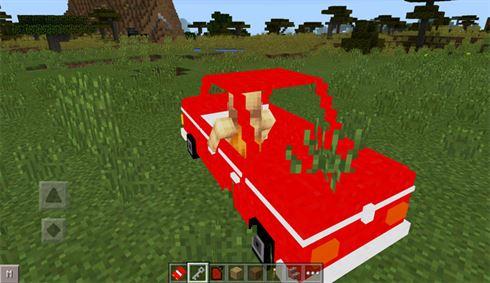 Мод на машины для Майнкрафт