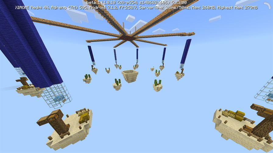 SkyWars Desertio для Minecraft Pocket Edition