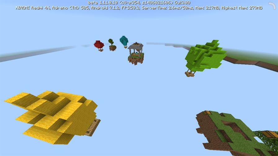SkyWars Classic для Minecraft Pocket Edition