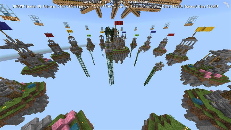 SkyWars Castles для Minecraft Pocket Edition