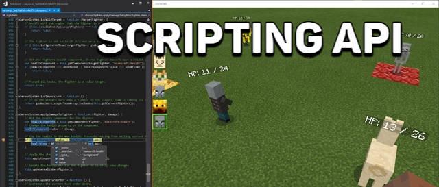 Scripting API в Майнкрафт 1.12.0