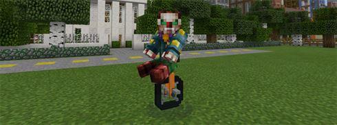 Моноцикл в Моде для Майнкрафт