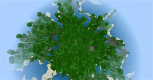 Остров джунглей для Minecraft PE