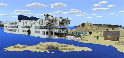 Необитаемый остров для Minecraft PE