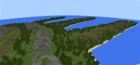 Остров Руки для Minecraft PE