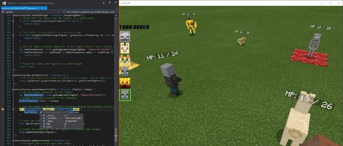 Обновление Scripting API в Майнкрафт Покет Эдишн 1.13.0