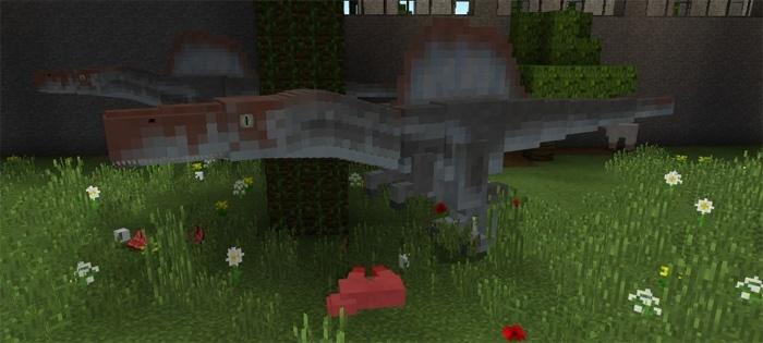 Спинозавры для Майнкрафт Покет Эдишн