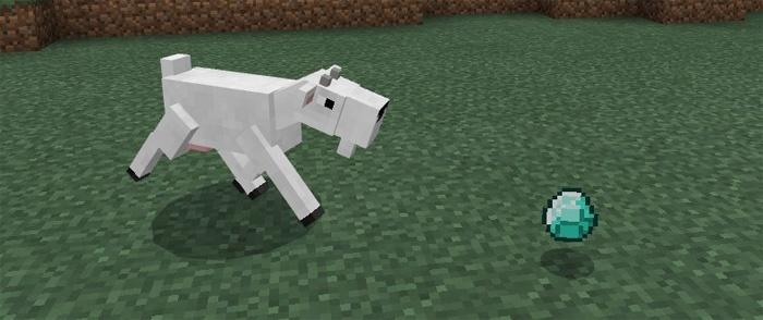 Коза в Майнкрафт Покет Эдишн