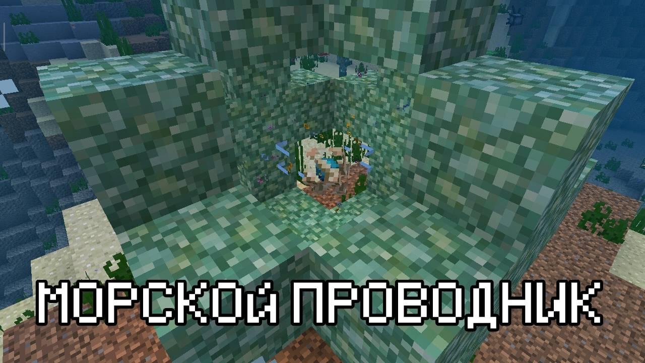 Морской проводник в Minecraft Pocket Edition 1.5.0