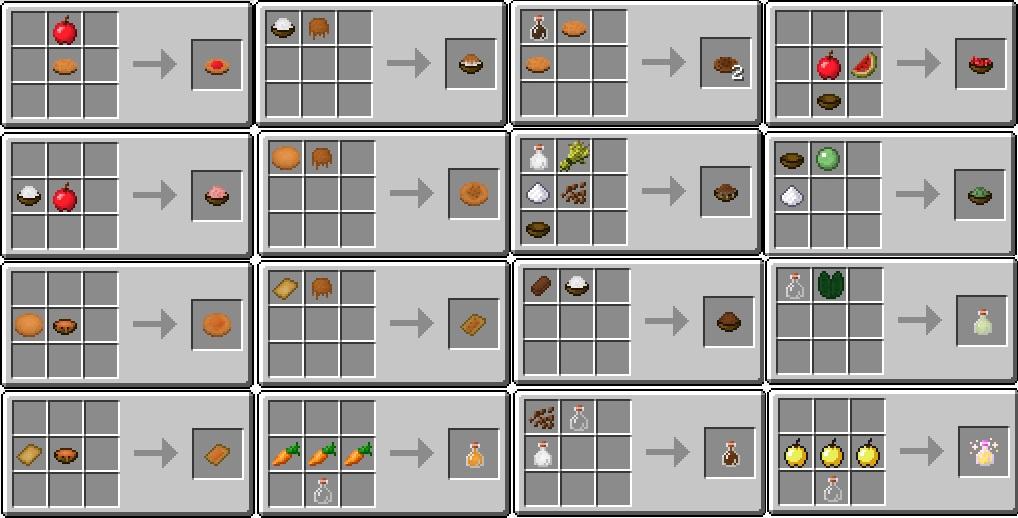 Мод на еду для Майнкрафт ПЕ