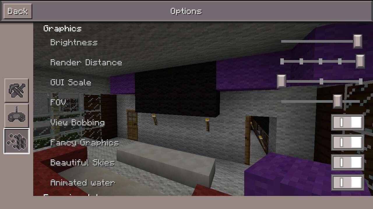 Хитрости на карте столбы для Майнкрафт ПЕ