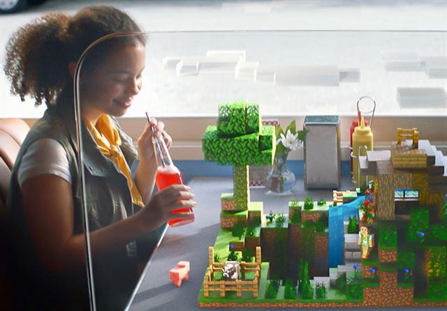 Стройте в Minecraft Earth