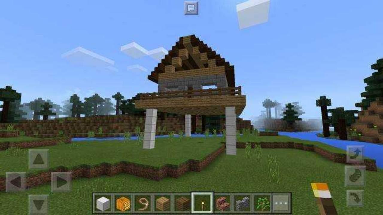 Мод на Ходячий дом в Майнкрафт ПЕ