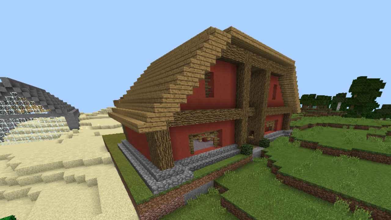 Структуры из мода на дома в Майнкрафт ПЕ
