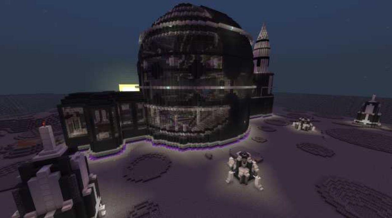 Карта для сервера Космос для Майнкрафт ПЕ