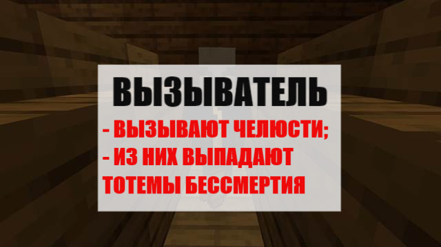 Вызыватель в Minecraft PE 1.1.4