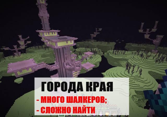 Города Края в Майнкрафт ПЕ 0.17.0.2