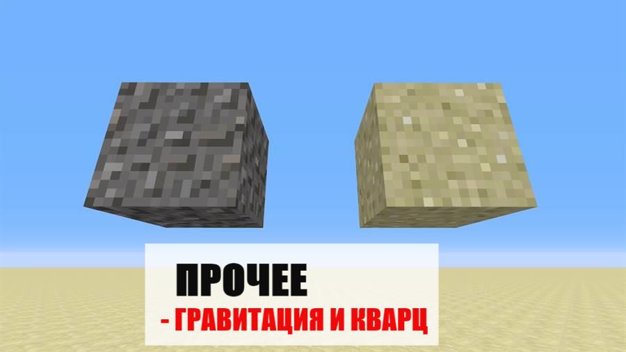 Прочее в Майнкрафт ПЕ 0.6.0
