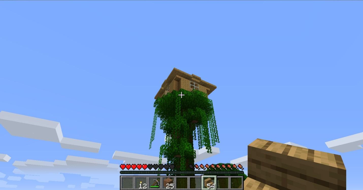 C:\Users\Vitamin\Desktop\Майнкрафт\Дом на дерев\дом на дереве вид снизу.jpg