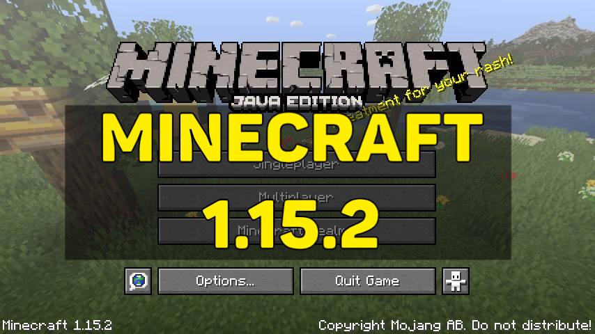 Скачать Minecraft 1.15.2