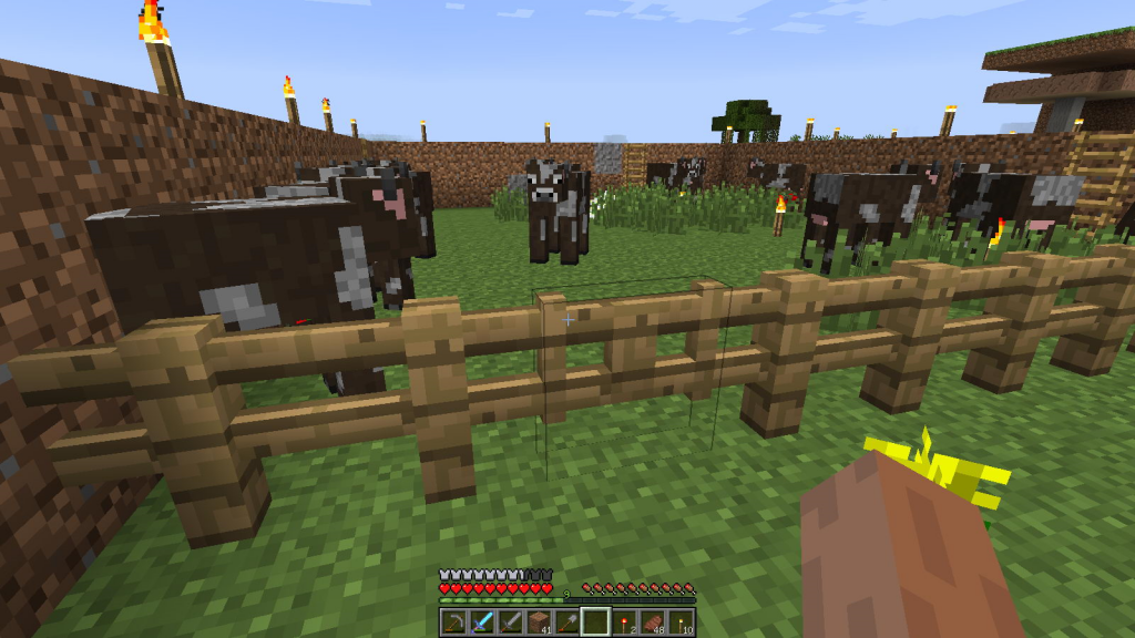 Калитка на ферме