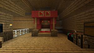 Королевская кровать