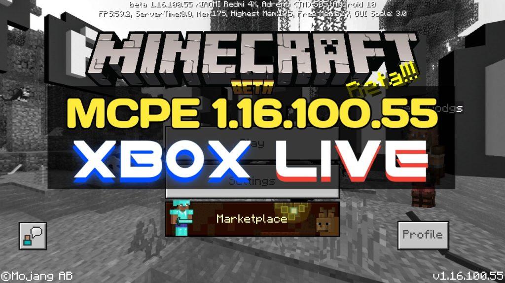 Minecraft PE 1.16.100.55 на Android