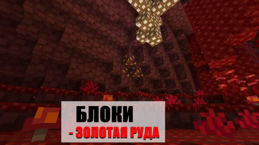 Блоки Майнкрафт 1.16.100.55